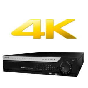 4K Network Video Recorders